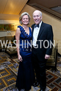 Alison and Dr. Kurt Newman. Photo by Tony Powell. Heroes Curing Childhood Cancer Gala. Four Seasons. February 22, 2014