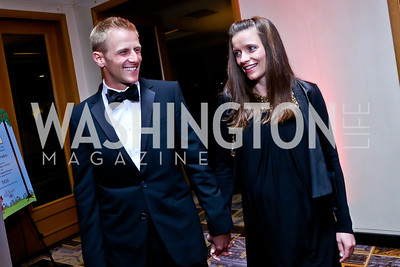 Andrew and Erin Meeks. Photo by Tony Powell. Heroes Curing Childhood Cancer Gala. Four Seasons. February 22, 2014