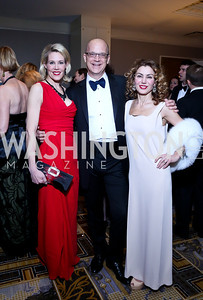 Co-Chair Elizabeth Blalack, Matthew Nicely Severina Mladenova. Photo by Tony Powell. Heroes Curing Childhood Cancer Gala. Four Seasons. February 22, 2014