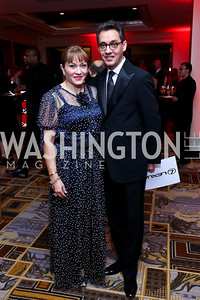 Cidalia and Masud Akbar. Photo by Tony Powell. Heroes Curing Childhood Cancer Gala. Four Seasons. February 22, 2014