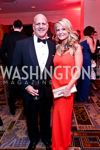 Dave and Jamie Dorros. Photo by Tony Powell. Heroes Curing Childhood Cancer Gala. Four Seasons. February 22, 2014