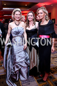 Heidi Kline, Jessica Blake, Amy Porter Stroh. Photo by Tony Powell. Heroes Curing Childhood Cancer Gala. Four Seasons. February 22, 2014