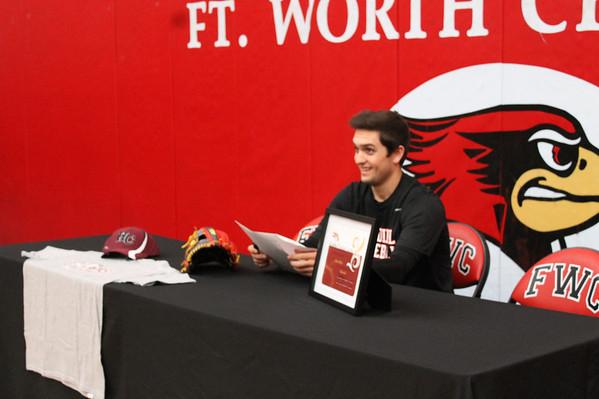 College Signing Ryan Miles
