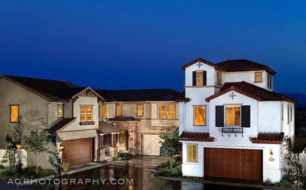 Hillside Models by Standard Pacific Homes, Chino, CA, 4/16/14.