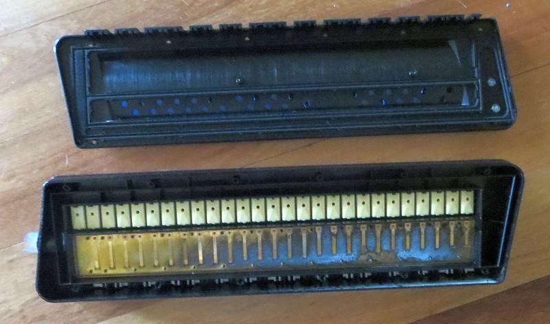 Older Piano 26 insides