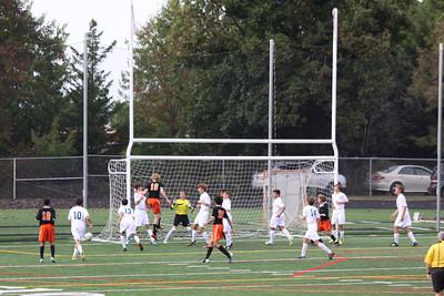 Howard JV Soccer Game Oct 1, 2013