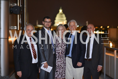 Michael Salem, Muneer Awad, Christie Hefner, Shelby Coffey, Gadeir Abbas, , Hugh M. Hefner Foundation, Annual First Amendment Awards, Newseum Rooftop, Tuesday, May 20th, 2104,