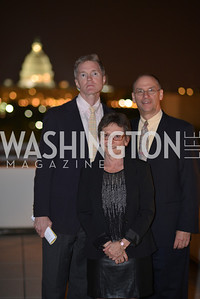 John Davis Malloy, Michael Macleod-Ball, Joan Burton , Hugh M. Hefner Foundation, Annual First Amendment Awards, Newseum Rooftop, Tuesday, May 20th, 2104,