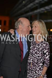 Christie Hefner Norman Dorsen , Hugh M. Hefner Foundation, Annual First Amendment Awards, Newseum Rooftop, Tuesday, May 20th, 2104,