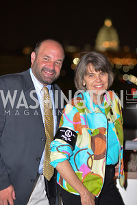 Mike Hiestand, Mary Beth Tinker, , Hugh M. Hefner Foundation, Annual First Amendment Awards, Newseum Rooftop, Tuesday, May 20th, 2104,
