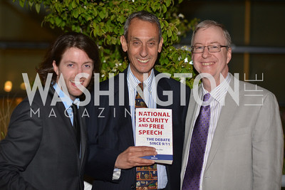 Jackson Tucker, Martin Greenwald, Chris Forman , Hugh M. Hefner Foundation, Annual First Amendment Awards, Newseum Rooftop, Tuesday, May 20th, 2104,
