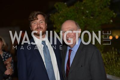 Norman Dorsen, Greg Lukianoff , Hugh M. Hefner Foundation, Annual First Amendment Awards, Newseum Rooftop, Tuesday, May 20th, 2104,