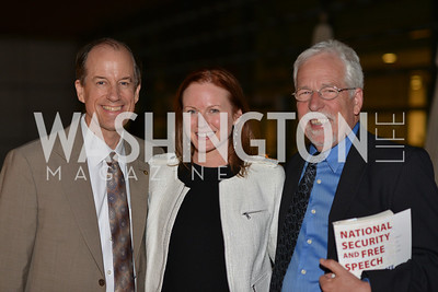 Thomas Drake, Amanda Warren, Louis Clark , Hugh M. Hefner Foundation, Annual First Amendment Awards, Newseum Rooftop, Tuesday, May 20th, 2104,