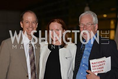 Thomas Drake, Amanda Warren, Louis Clark , Hugh M. Hefner Foundation, Annual First Amendment Awards, Newseum Rooftop, Tuesday, May 20th, 2104,
