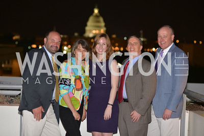 Mike Hiestand, Sara Gregory, Frank LoMONTE, Mary Beth Tinker, , Hugh M. Hefner Foundation, Annual First Amendment Awards, Newseum Rooftop, Tuesday, May 20th, 2104,