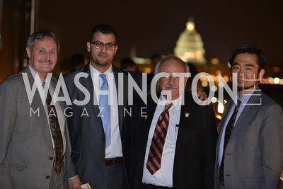 Glenn Rawdon Muneer Awad Hironao Okahana , Hugh M. Hefner Foundation, Annual First Amendment Awards, Newseum Rooftop, Tuesday, May 20th, 2104,