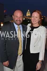 Amanda Warren Mike Hiestand , Hugh M. Hefner Foundation, Annual First Amendment Awards, Newseum Rooftop, Tuesday, May 20th, 2104,