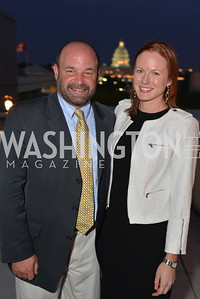 Amanda Warren Mike Hiestand , Hugh M. Hefner Foundation, Annual First Amendment Awards, Newseum Rooftop, Tuesday, May 20th, 2104,