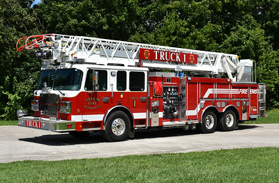 Salem, Virginia Truck 1 is a 2016 Smeal Sirius 105' with a 2000/480/20 and serial number 612240.  Originally a Smeal demo and purchased quickly by Smeal shortly after the build of the truck had begun.