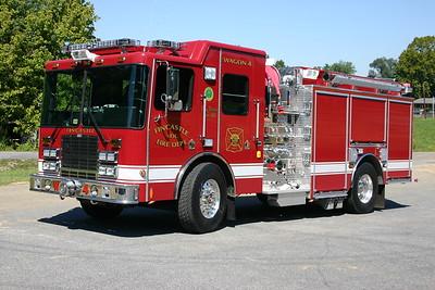 Wagon 4 is a nice 2007 HME/4-Guys, 1500/1500, s/n F-2497.