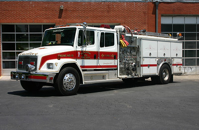 Glasgow's apparatus are numbered based on when they were purchased, this was the 15th piece of fire apparatus purchased.  Engine 2 is a 1993 Freightliner 80/Ferrara, 1250/750/40, sn- 64252.