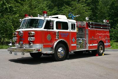 Engine 53 is a twin to E50.  A 1981 ALF Century/1996 Gordons, 1250/750 - no foam, sn- CE-7099, E53 is primary for auto accidents.  ex - Weldon, Pennsylvania ex - Weavertown, Pennsylvania Engine 281