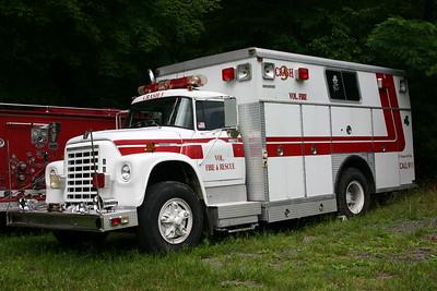 Upper Craig Creek's 1976 International/Saulsbury former rescue.  ex - Burtonsville, Maryland (Montgomery County) ex - Boonsboro, Virginia
