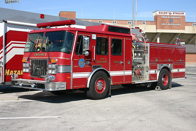 Salem Engine 3 is this 1994 Emergency One Cyclone, 1250/500, sn- 23239.
