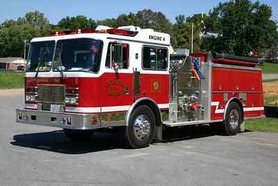 Former Engine 4 - 1993 KME  1250/1000, s/n 63132 was a former KME demo.