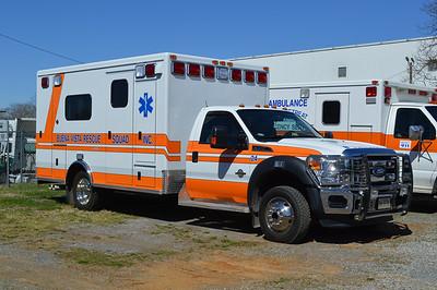 Buena Vista Rescue Squad - Buena Vista Virginia.  Ambulance 24 is a 2014 Ford F-350/Horton.