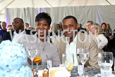 Brenda and Mark Moore. Photo by Tony Powell. INOVA Summit Luncheon. Salamander Resort. November 8, 2014