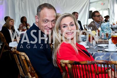 Jim and Amy Turner. Photo by Tony Powell. INOVA Summit Luncheon. Salamander Resort. November 8, 2014