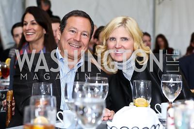 Ashley and Alan Dabbiere. Photo by Tony Powell. INOVA Summit Luncheon. Salamander Resort. November 8, 2014
