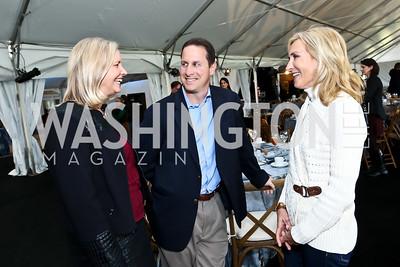 Robin Thurman, Dr. Craig Cheifetz, Janet Danker. Photo by Tony Powell. INOVA Summit Luncheon. Salamander Resort. November 8, 2014