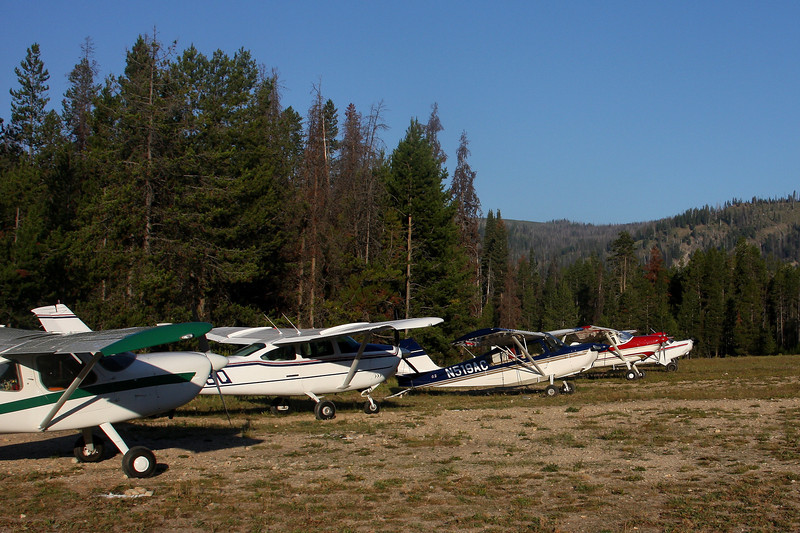 Sulphur Creek Flightline