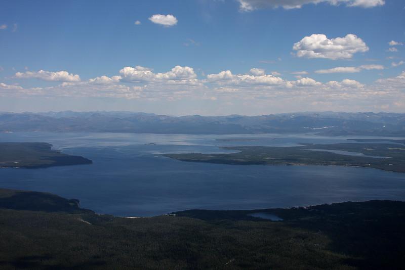 West Thumb and Yellowstone Lake