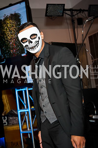 Eric Serrano. Photo by Tony Powell. Imagine! Masquearde Ball. Carnegie Library. October 28, 2014