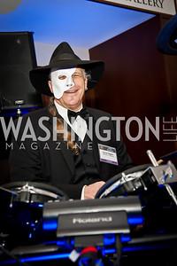 Event Sponsor Carroll Higgins. Photo by Tony Powell. Imagine! Masquearde Ball. Carnegie Library. October 28, 2014