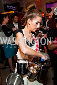 Oyster XO's Sydney Herring. Photo by Tony Powell. Imagine! Masquearde Ball. Carnegie Library. October 28, 2014