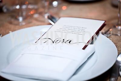 Photo by Tony Powell. WL Inaugural Chef's Roast of Nora Pouillon. Union Market. September 22, 2014
