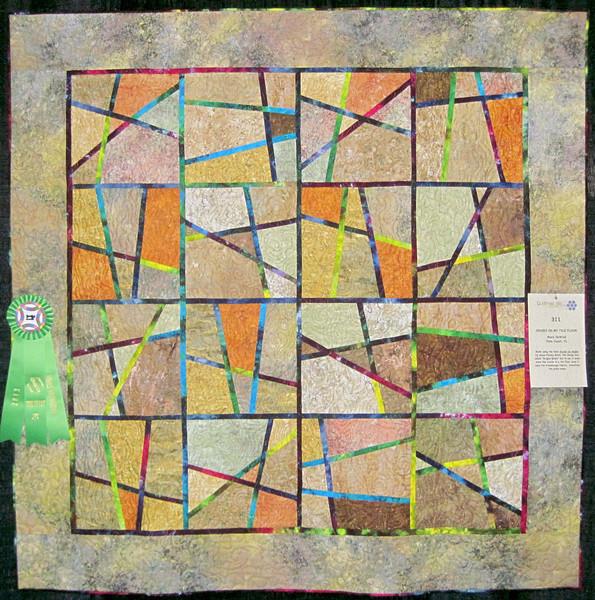 Judge's Recognition<br /> Cracks in My Tile Floor <br /> Mary DeWind