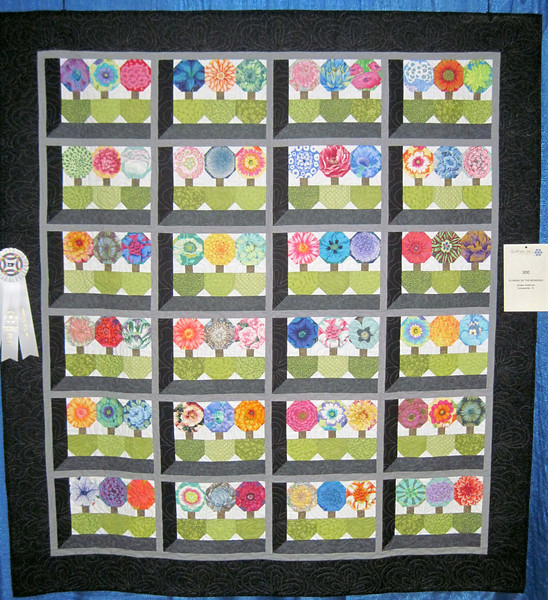 Third Place<br /> Flowers in the Windows<br /> Diane Anderson