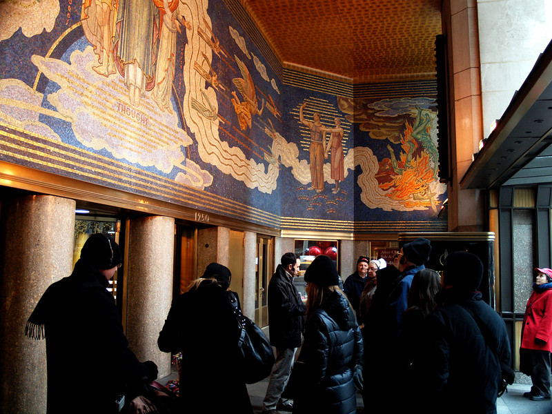 The Rockefeller Center tour.