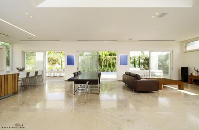 צילום בית בסביון עבור ישראלביץ אדריכלים