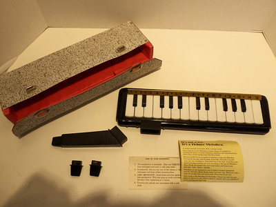 Despite the accompanying paperwork, this is almost certainly not a Hohner Melodica.
