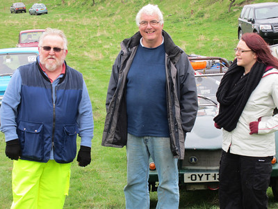 Keith Oakes, Roger Dudley, Christina Dudley