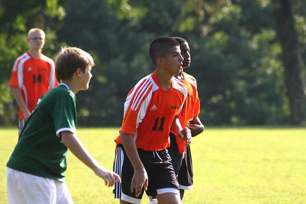 JV Soccer v Holy Cross School