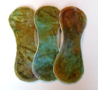 "THREE Light Flow Comfort Contour Pads - ""koi pond"""