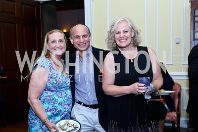 Andrea Nordell, Dan and Patty Marcus. Photo by Tony Powell. On the 60th Anniversary of the Newport Jazz Festival. National Archives. June 19, 2014