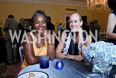 Lynnetta Jones, Kristin Killion. Photo by Tony Powell. On the 60th Anniversary of the Newport Jazz Festival. National Archives. June 19, 2014